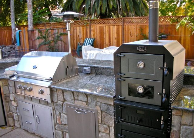 Outdoor Pizza Ovens L Custom Fireplaces Fire Pits