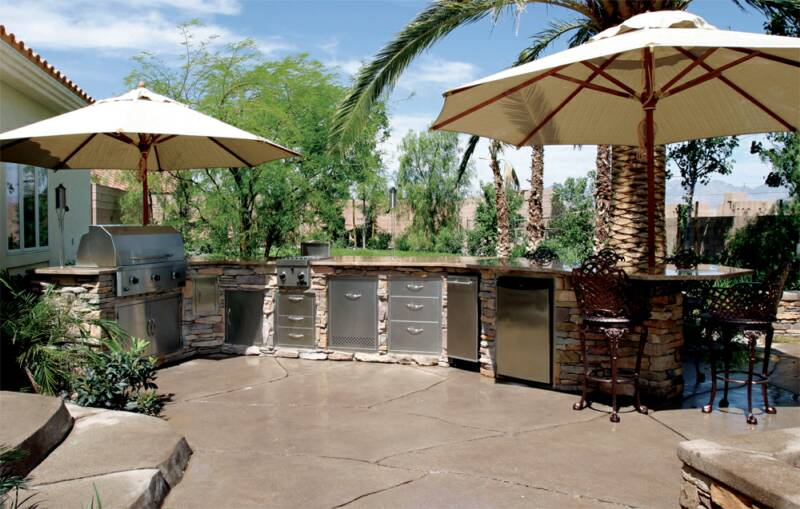 Prefab Islands Prefab Outdoor Kitchens Prefab BBQ Islands - Prefab outdoor kitchen grill islands