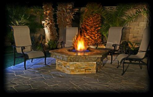 outdoor kitchen - Custom Fire Pits L Custom Fire Tables Outdoor Fireplaces