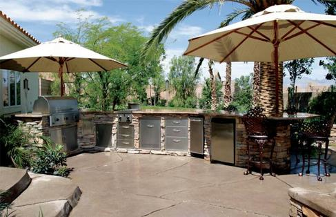 Outdoor Kitchens l Unlimited Outdoor Kitchen l Custom Outdoor ...